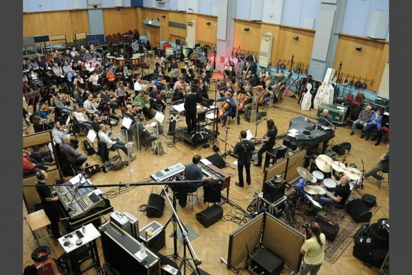 DF at Abbey Road with Procol Harum and BBC CO